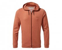 Nosilife Tilpa Hooded Jacket, burnt whisky, L