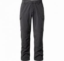 Nosilife Convertible II Trousers, black pepper, S/L